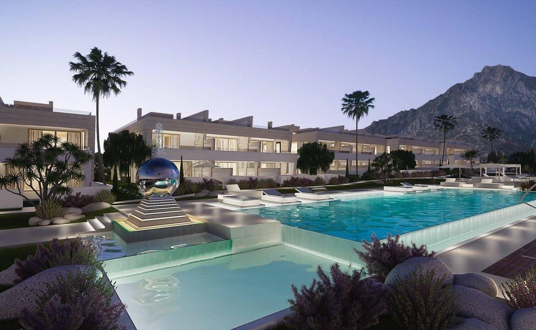 epic marbella luxe huizen golden mile zwembad
