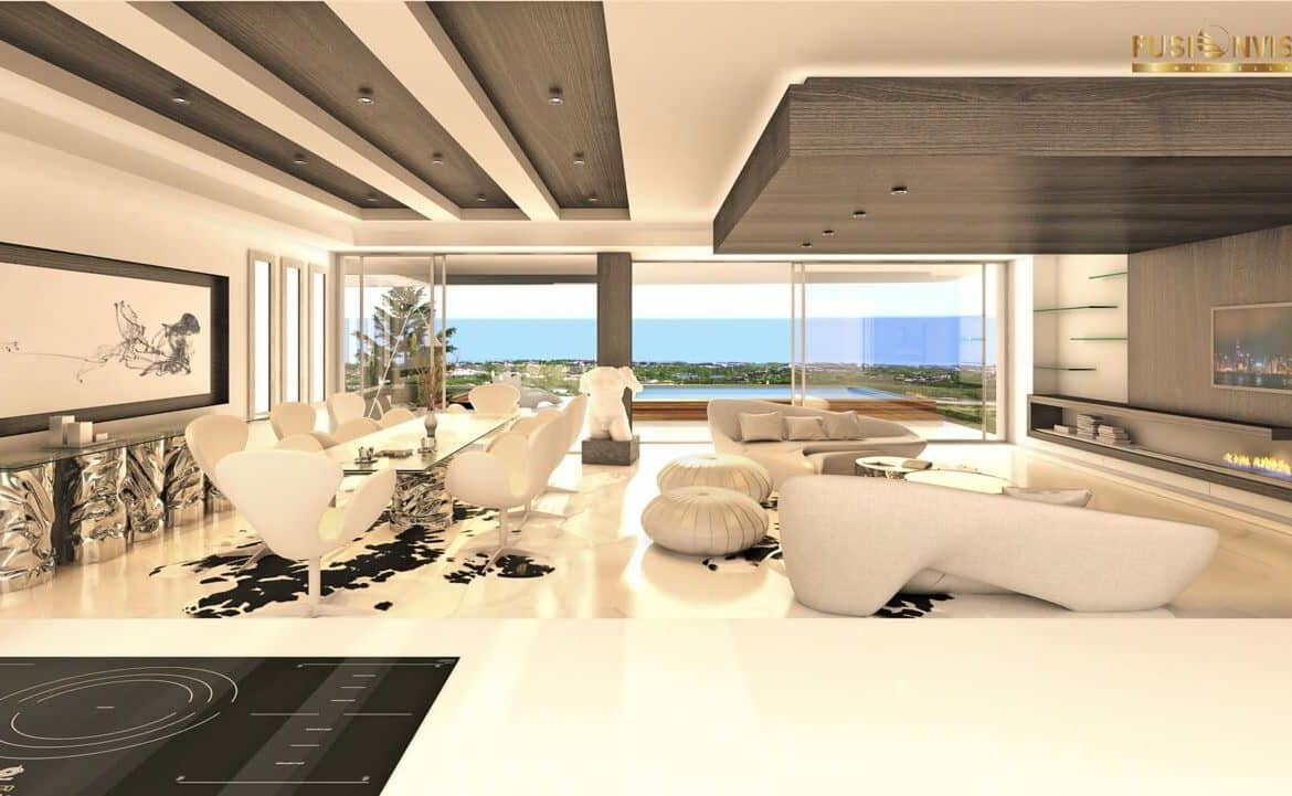 fusionvista benahavis new golden mile appartement living