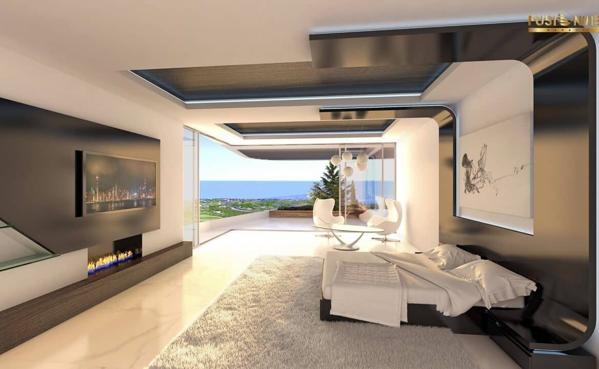 fusionvista benahavis new golden mile appartement slaapkamer