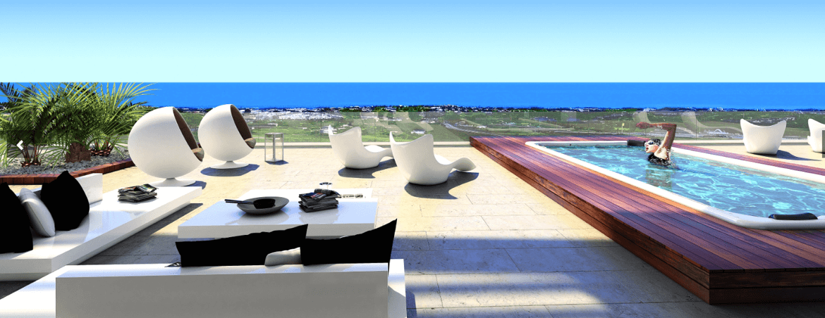 fusionvista benahavis new golden mile appartement terras zwembad