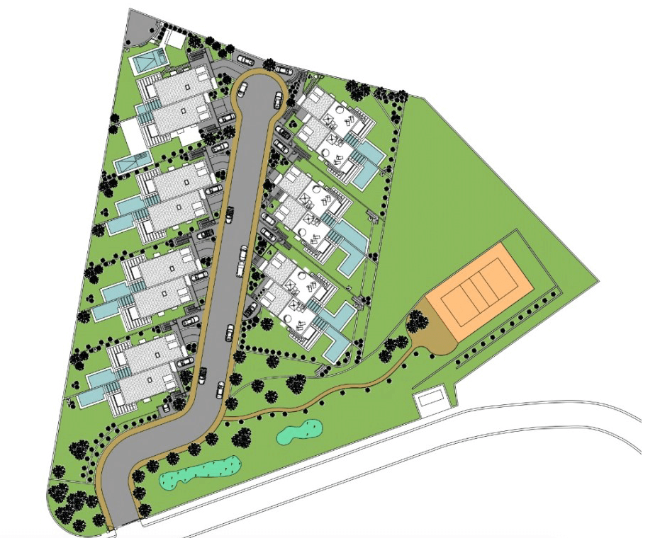 green hill cabopino plan siteplan