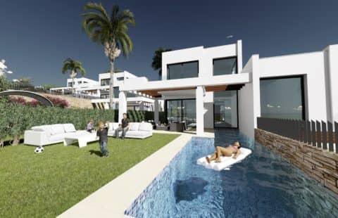 Green Hill Marbella: eerstelijns golf huizen met zicht op zee (Cabopino)