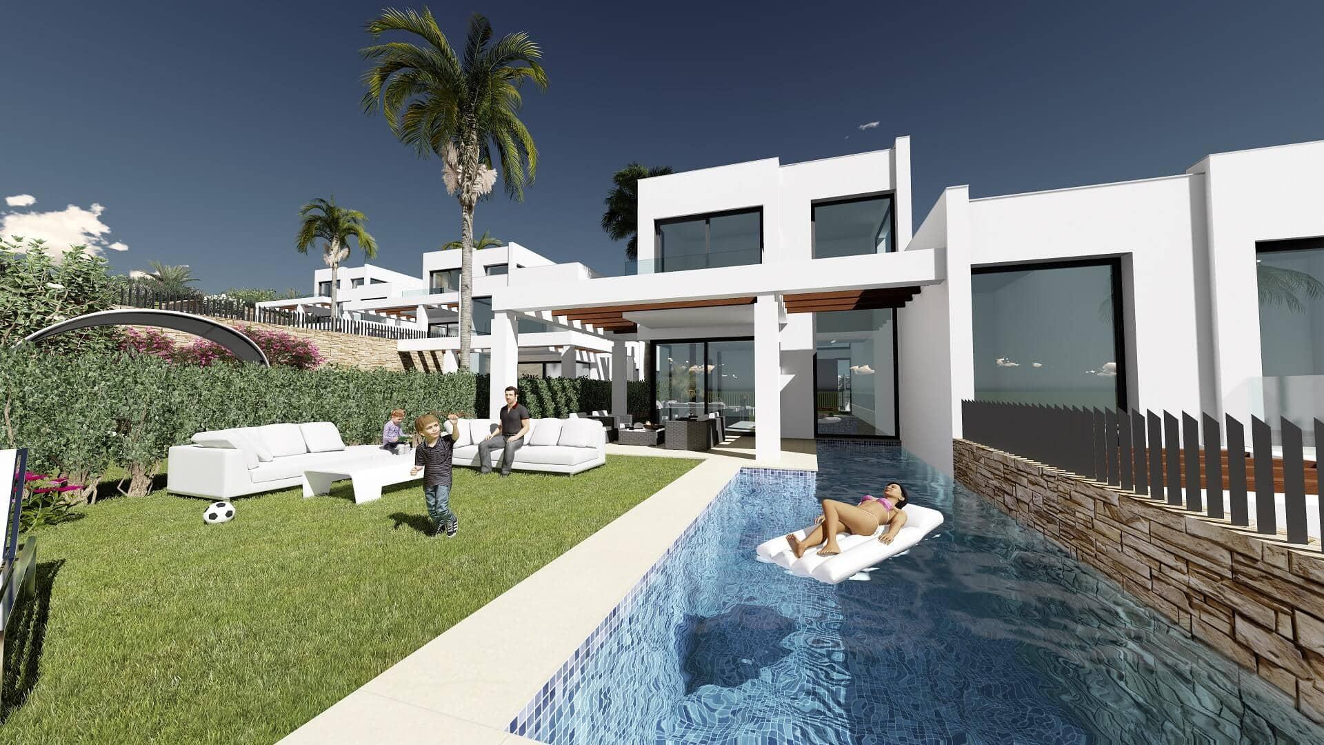 green hill cabopino villas oost marbella zeezicht tuin zwembad