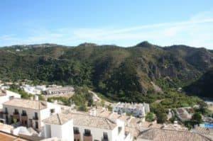 uitzicht op de stad Guadalmina Marbella