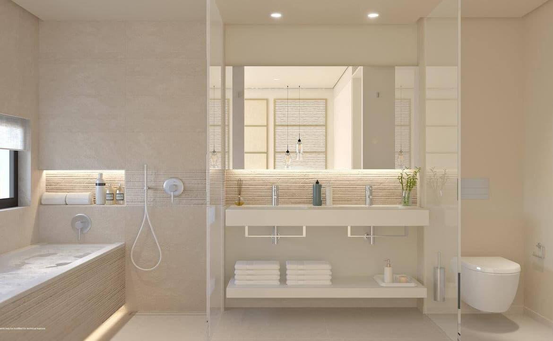 higueron west appartement penthouse te koop zeezicht badkamer