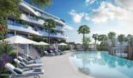 higueron west appartement penthouse te koop zeezicht zwembad