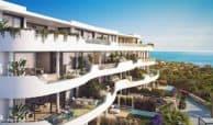 higueron west appartement penthouse zeezicht terrassen