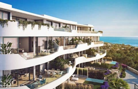 Higueron West 217: prachtig project op de bergflank (Marbella Oost)