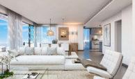 higueron west fuengirolacosta del sol spanje appartement te koop resort concierge zeezicht living