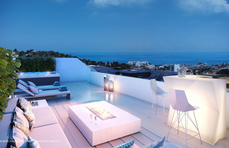 higueron west fuengirolacosta del sol spanje appartement te koop resort concierge zeezicht penthouse