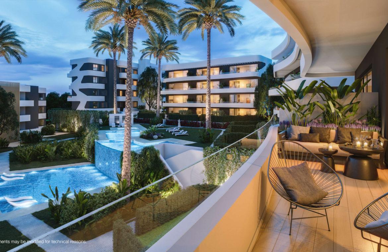 higueron west fuengirolacosta del sol spanje appartement te koop resort concierge zeezicht terras