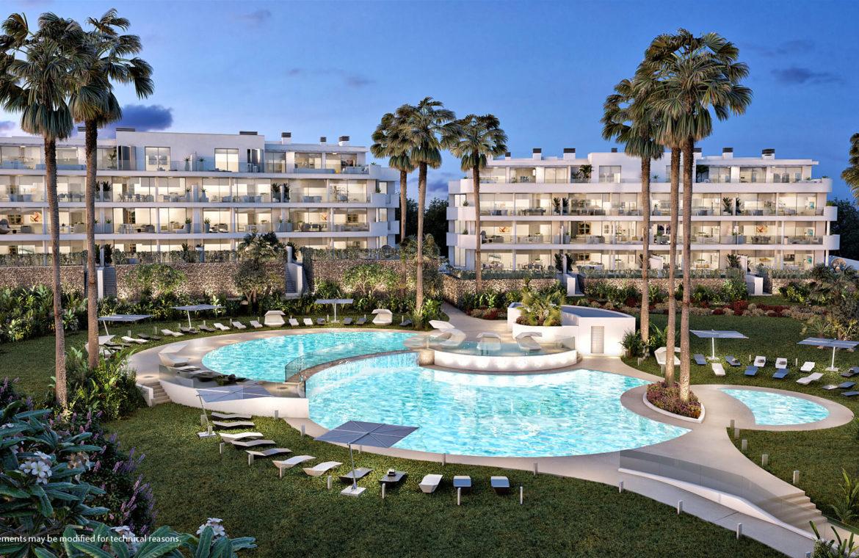 higueron west fuengirolacosta del sol spanje appartement te koop resort concierge zeezicht zwembad