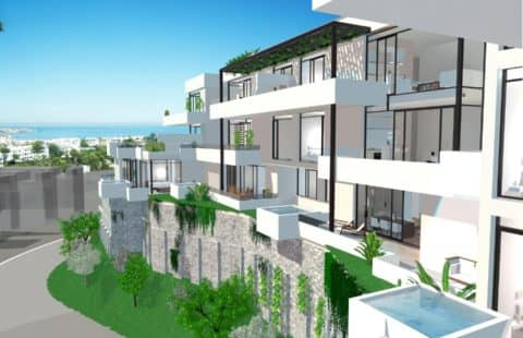 Hole in One: moderne nieuwbouw golf penthouses (Miraflores)