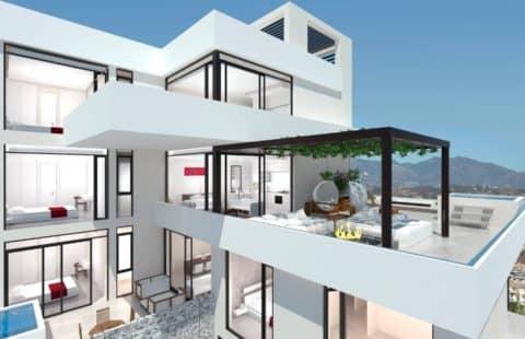 Hole in One: moderne nieuwbouw golf appartementen (Miraflores)