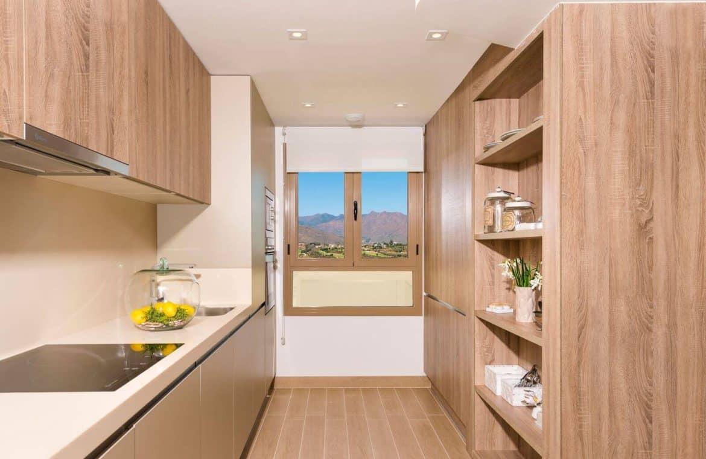 horizon golf la cala mijas huis keuken detail