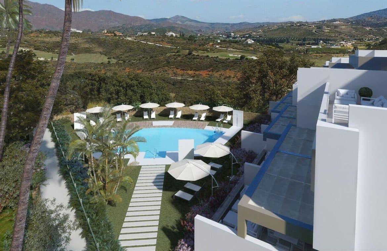 horizon golf la cala mijas huis zwembad zicht