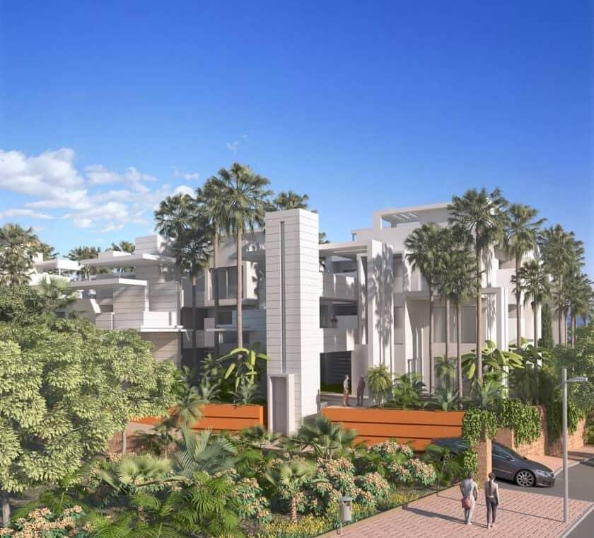 ikasa scenic estepona appartement penthouse wandelafstand haven zeezicht inkom