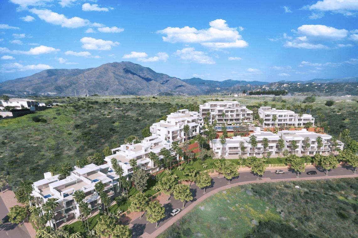 ikasa scenic estepona appartement penthouse wandelafstand haven zeezicht project
