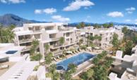 ikasa scenic estepona appartement penthouse wandelafstand haven zeezicht project zwembad