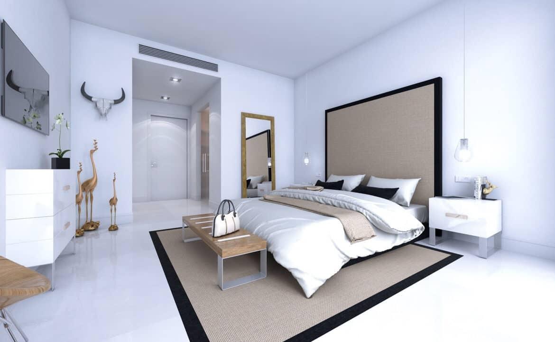 ikasa scenic estepona appartement penthouse wandelafstand haven zeezicht slaapkamer