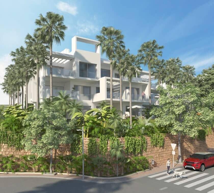 ikasa scenic estepona appartement penthouse wandelafstand haven zeezicht straataanzicht