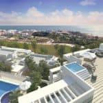 ikasa scenic estepona appartement penthouse wandelafstand haven zeezicht zeezicht penthouse