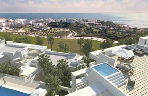 Scenic: nieuwbouw penthouses met frontaal zeezicht (Estepona)