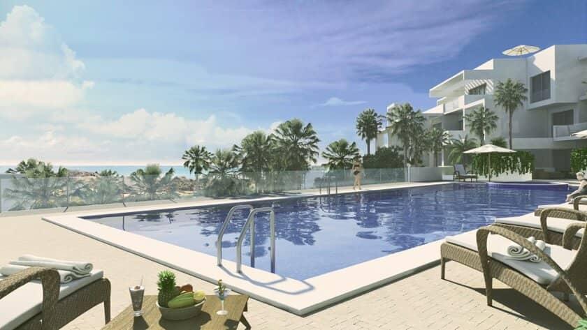 ikasa scenic estepona appartement penthouse wandelafstand haven zeezicht zwembad