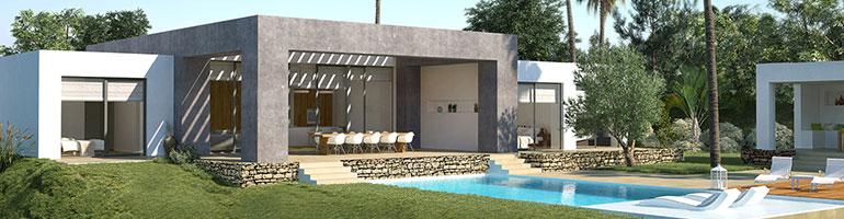 villa's te koop Marbella eerstelijns strand