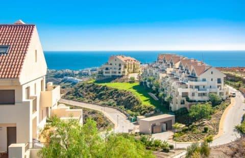 La Cala Hill Club: vernieuwbouw appartementen met zeezicht (Mijas)