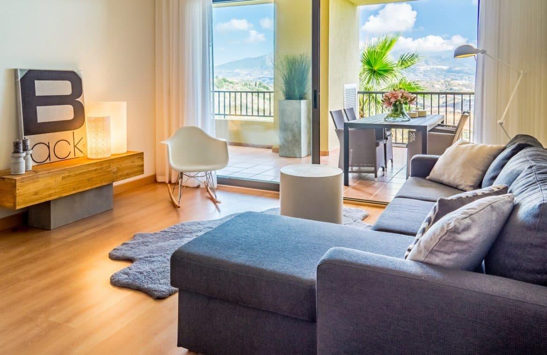 la cala hill club mijas zeezicht golf appartement penthouse te koop huis marbella living