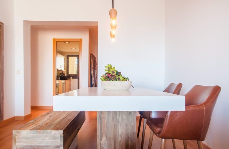 la cala hill club mijas zeezicht golf appartement penthouse te koop project marbella eethoek