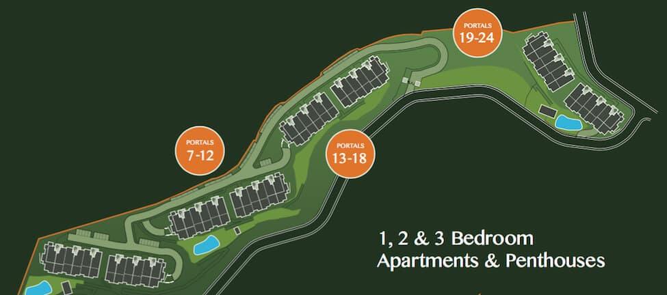la cala hill club mijas zeezicht golf appartement penthouse te koop project marbella plattegrond