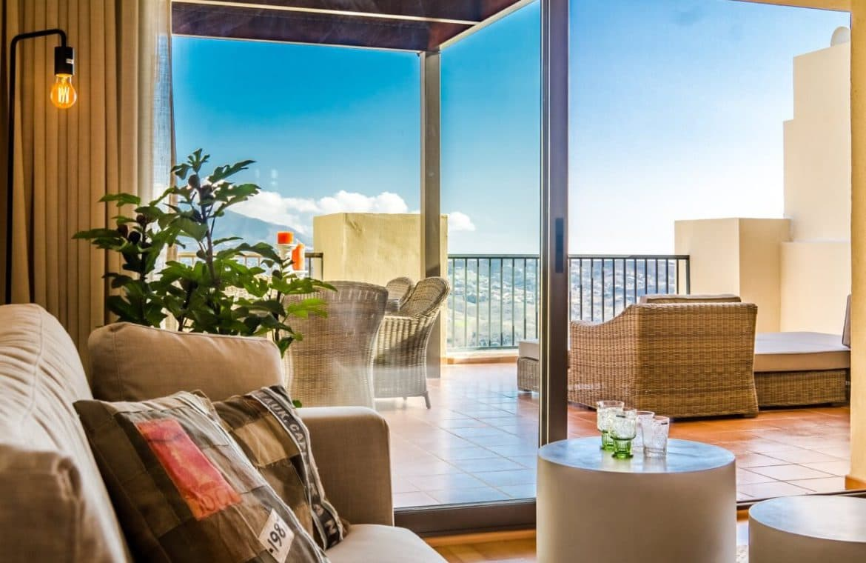 la cala hill club mijas zeezicht golf appartement penthouse te koop terras marbella