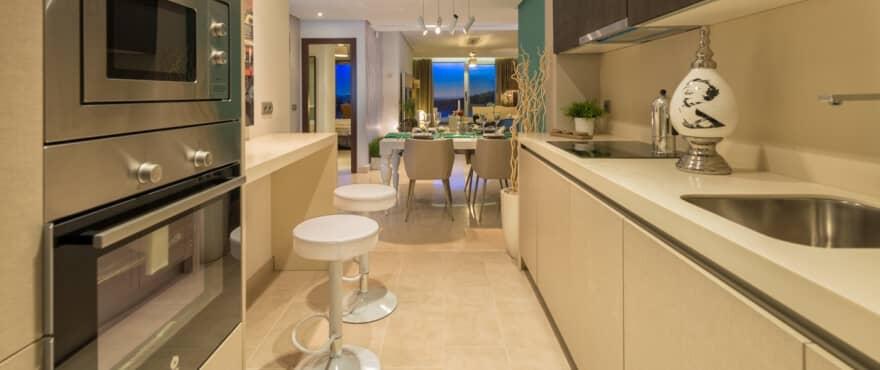 la floresta la mairena appartement penthouse te koop marbella huis keuken