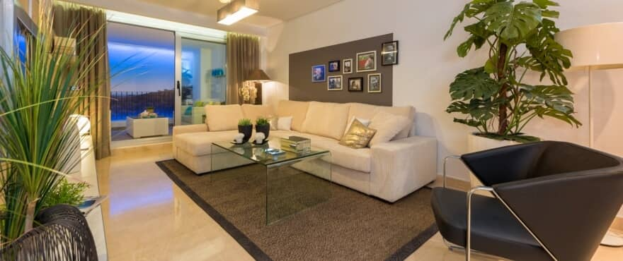 la floresta la mairena appartement penthouse te koop marbella huis living terras