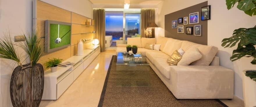 la floresta la mairena appartement penthouse te koop marbella huis living