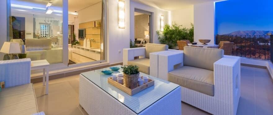 la floresta la mairena appartement penthouse te koop marbella huis terras
