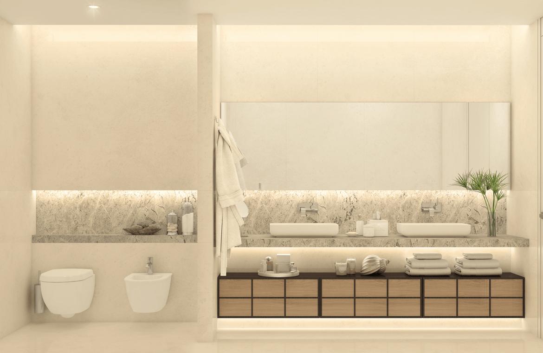 la meridiana suites appartementen golden mile badkamer
