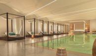la meridiana suites appartementen golden mile binnenzwembad detail