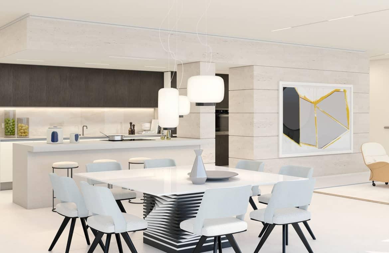 la meridiana suites appartementen golden mile keuken