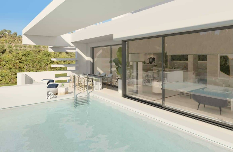 la meridiana suites appartementen golden mile prive zwembad