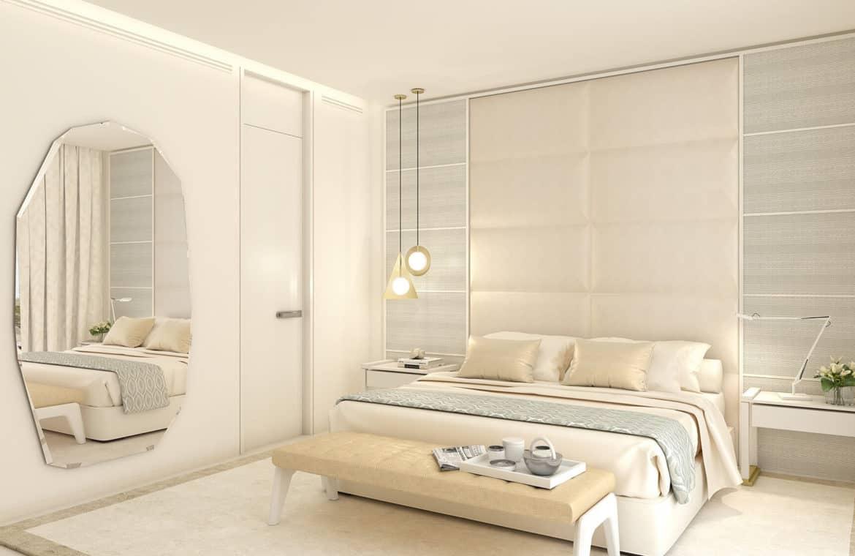 la meridiana suites appartementen golden mile slaapkamer bed
