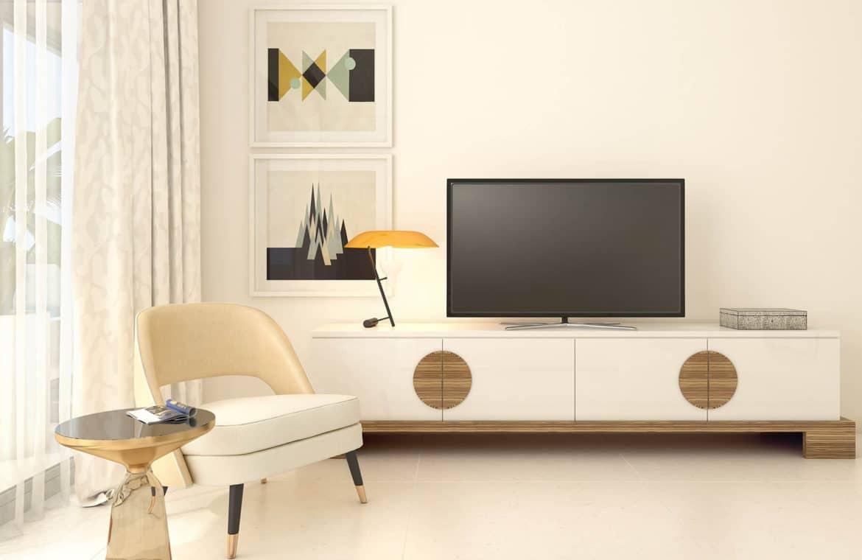 la meridiana suites appartementen golden mile slaapkamer detail