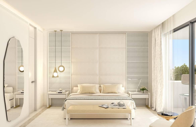 la meridiana suites appartementen golden mile slaapkamer hoofd