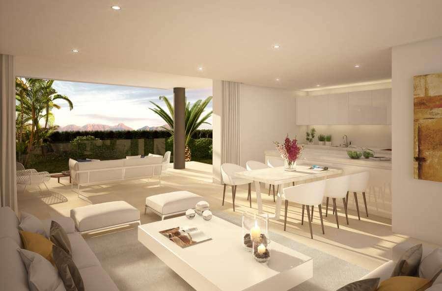 la montesa marbella cabopino appartement gelijkvloers keuken
