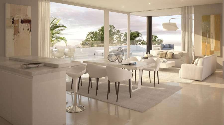 la montesa marbella cabopino appartement gelijkvloers living