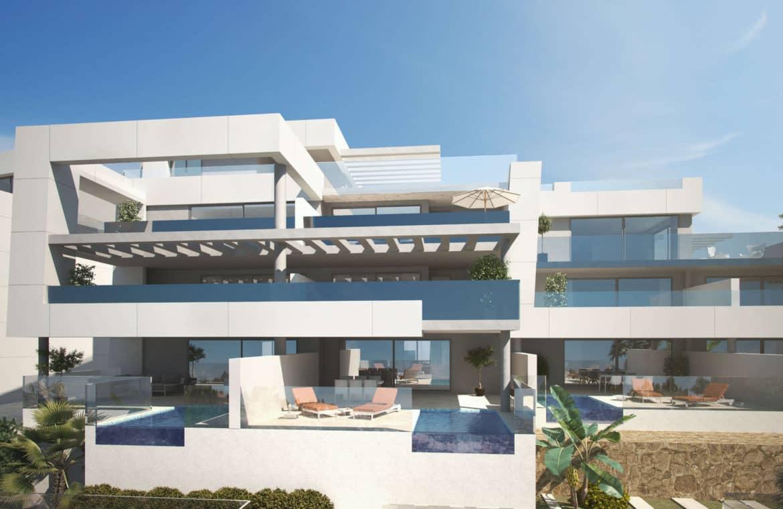 la morelia penthouse nueva andalucia terras