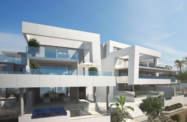 la morelia penthouse nueva andalucia vooraanzicht