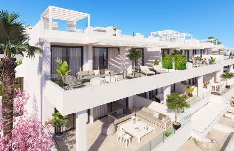 Las Olas: appartementen op wandelafstand zee met zeezicht (Estepona)